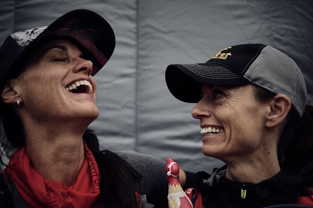 The Joy of a race partner