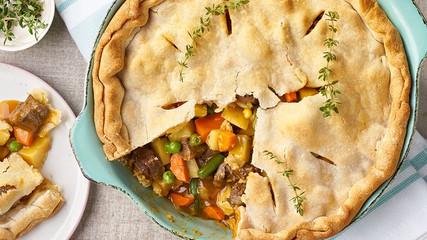 Sunday's comfort food                      Easy Beef Pot Pie