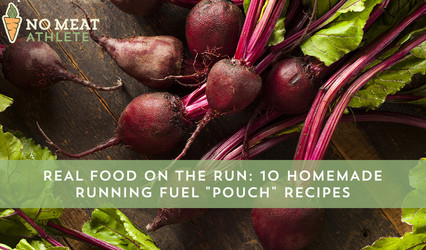 """10 Homemade Running Fuel """"Pouch"""" Recipes"""