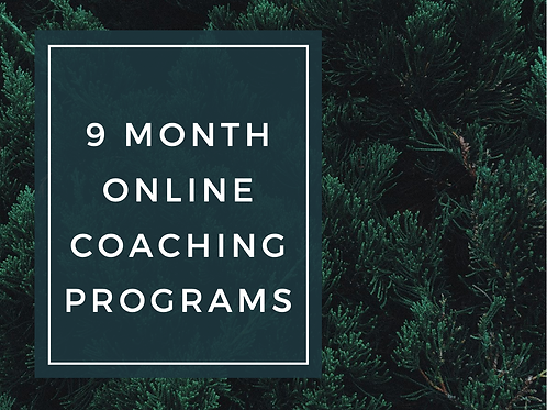 9-Month Online Coaching