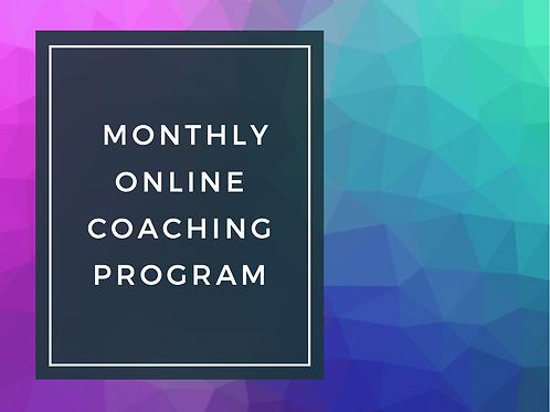 1 Month online Coaching Program
