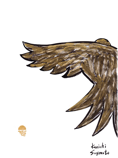 金色に染まる鳥 / Golden Bird
