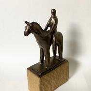 騎馬像/Prize