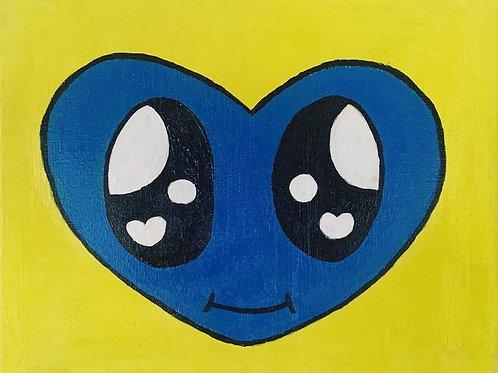 ぶるーはーとちゃん Blue Heart Chan