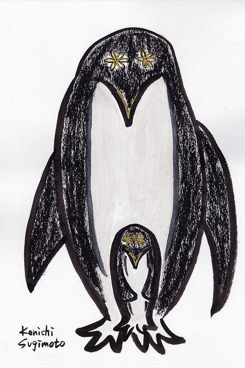 ペンギン親子 / Penguin parent and child