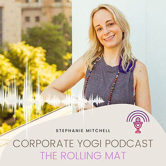 Corporate Yogi Podcast The Rolling Mat.j