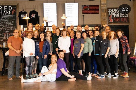 Corporate Yoga & Wellness Program