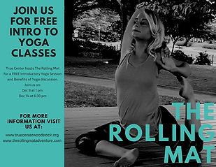 the rolling mat true center yoga class.j