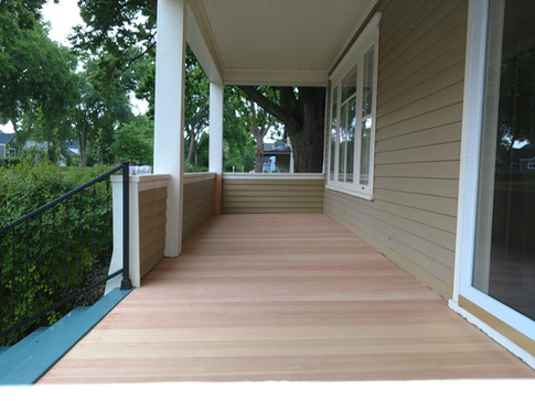 Fir Porch Flooring