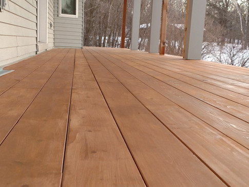 Cedar Porch Flooring