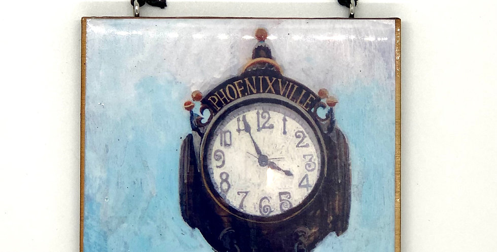 Phoenixville Clock Ornament