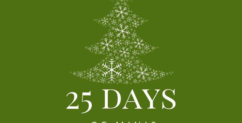25 Days of Minis Dec.9