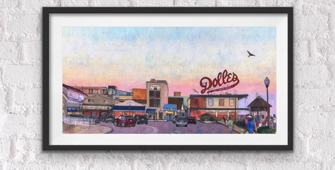 Dolles by Teresa Haag Limited Edition Print