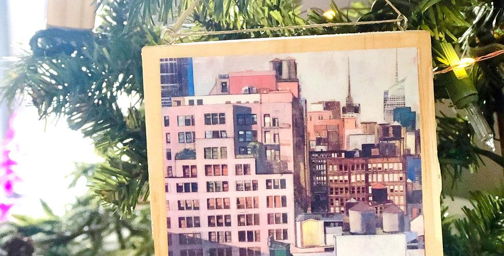 City of Dreams Art Ornament