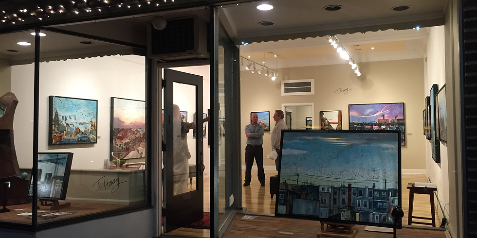 Solo Show At Church Street Gallery