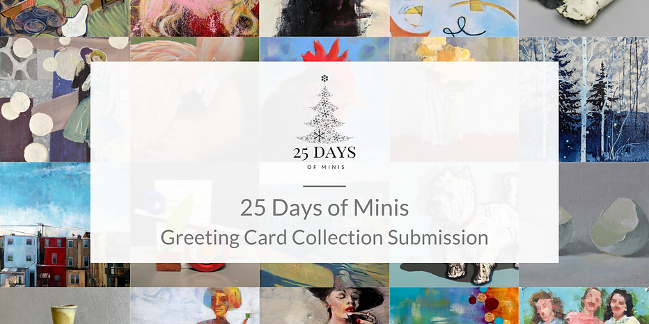 Copy of Welcome to 25 Days of Minis 2020
