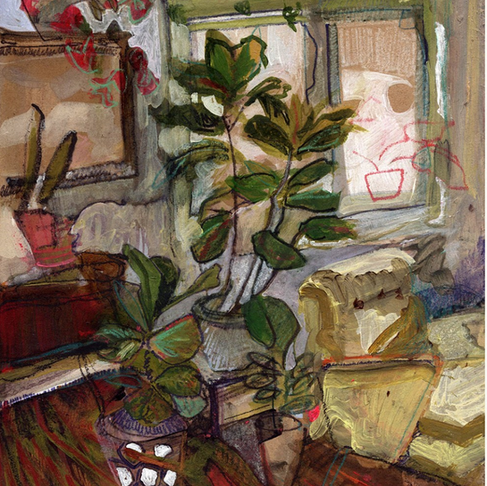 Artist Erika Stearly Shares her Intimate Interiors