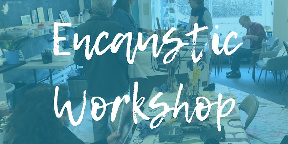 Encaustic Workshop Taught by Sandra Sedmak Engel