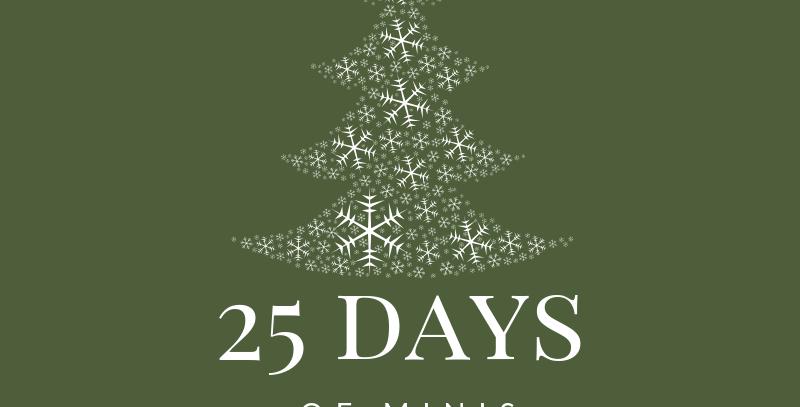 25 Days of Minis Dec.8