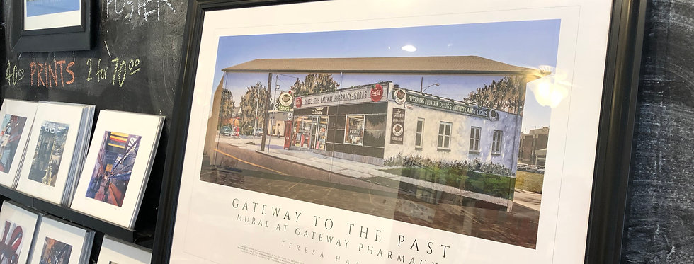 Gateway Pharmacy Mural Poster