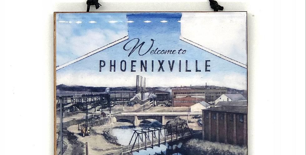 Welcome to Phoenixville Mural Ornament