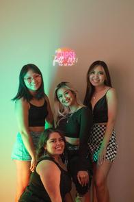 Jia, Vi, Amy & Stef   Fall 2021 Rush