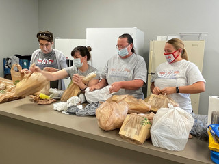Community Comes Together at Cane River Food Pantry