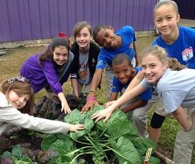 Children are Natural Gardeners