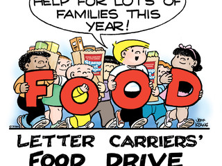 Letter Carriers Continue to Support Local Food Banks