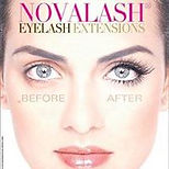 novalash, eylash extentions