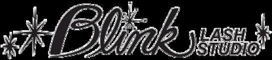 blink lash studio, blink lash studio logo
