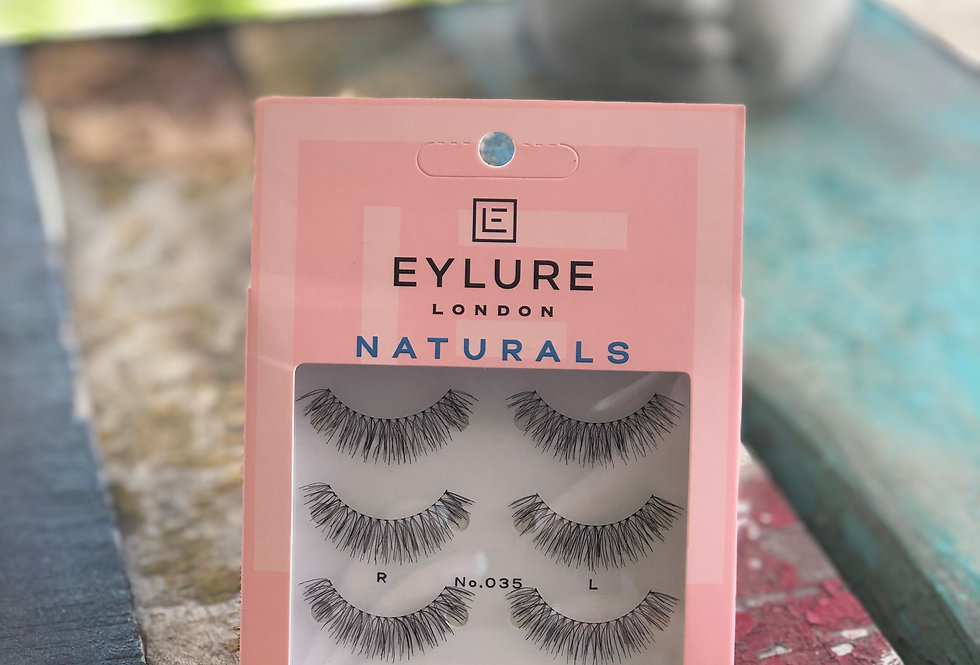035 Natural Volume Strip Lashes - 3 pack