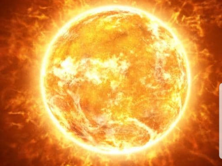 مكونات الشمس...