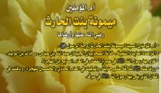 السيدة ميمونة بنت الحارث... آخر زوجات الرسول ص