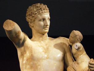 الفن الإغريقي