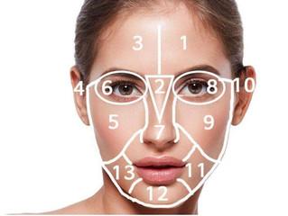 موقع الحبوب على الوجه.. يدل على مشكلة في الغذاء..وإليك العلاج