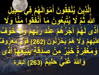 ( الذين ينفقون أموالهم في سبيل الله )...