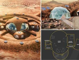 كيف ستبدو المنازل.. والقصور عند استعمار المريخ