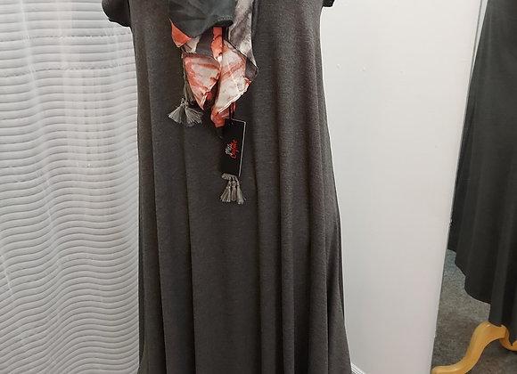 Dress-Julia & Divina, grey