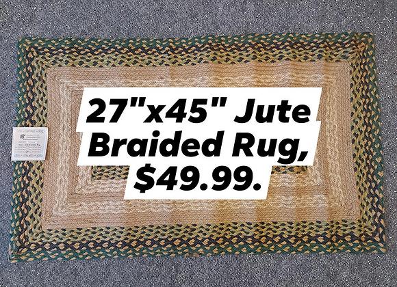 Braided Jute Rug