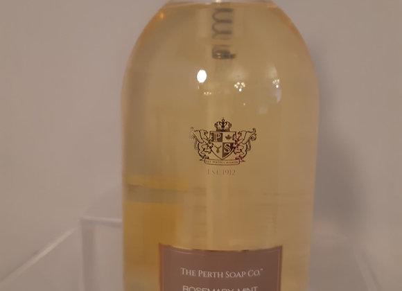 Perth Soap Company Liquid Soap- Rosemary Mint
