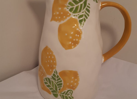 Ceramic Lemon Pitcher