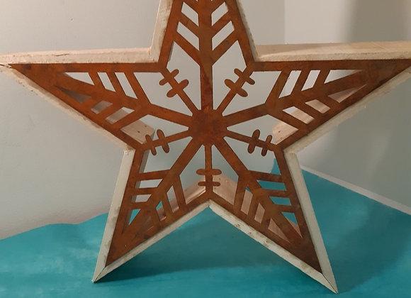Wood & Metal Starn