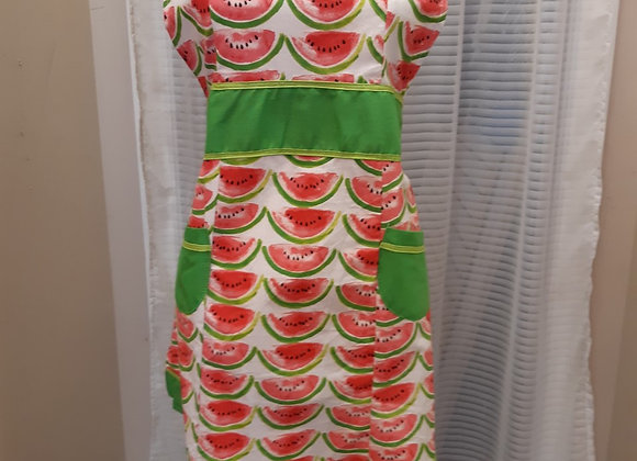 Vintage Style Apron-Watermelon