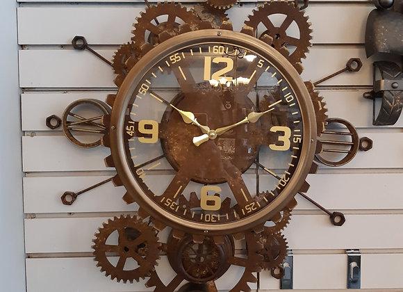 Gear Clock-rustic
