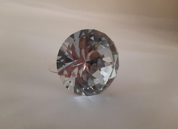 Flat Crystal Knob