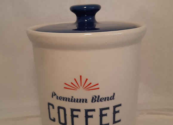 Vintage Style Ceramic Coffee Canister