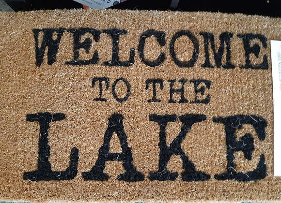Doormat-Welcome to the Lake