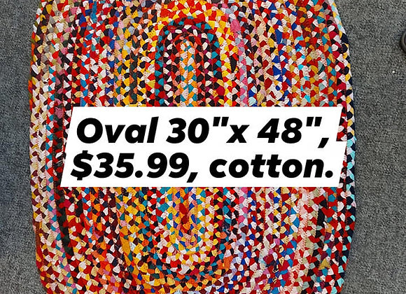 Oval Cotton Rug
