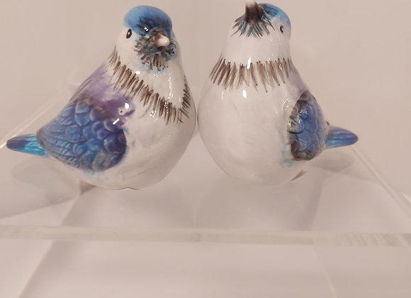 Salt & Pepper Shakers-Blue Jays